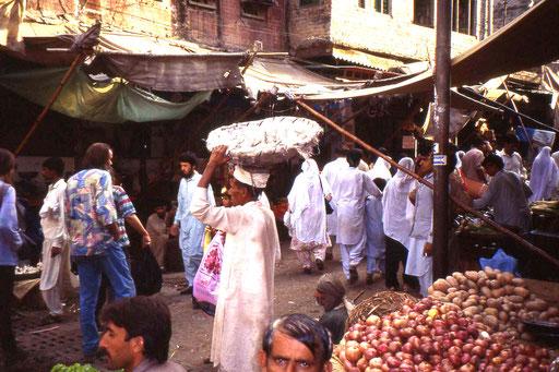 Markt in Rawalpindi