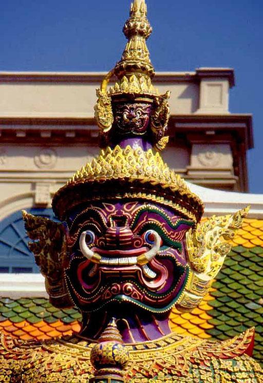 Tempelwächter im Wat Phra Kheo