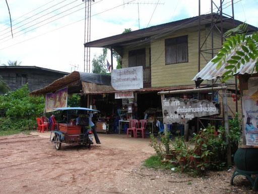 Dorfladen und Taxistand