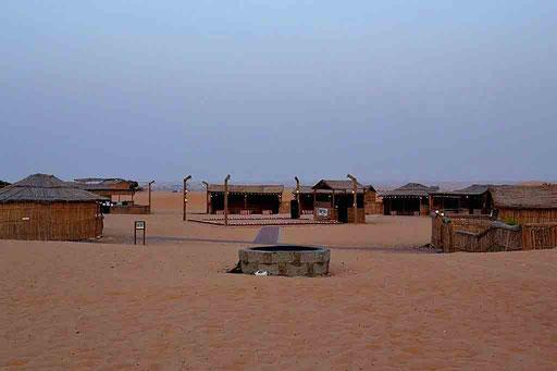 Das - noch - verlassene Beduinencamp (Foto von Daniel Schlenk)
