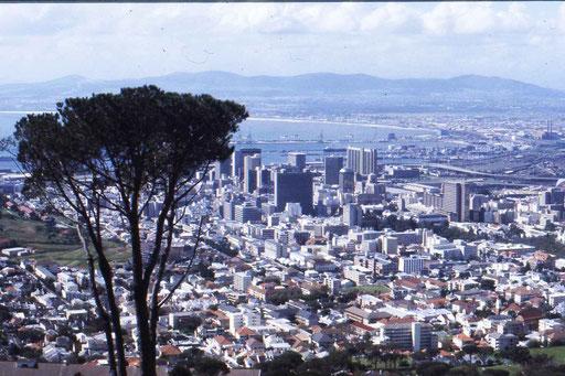 Blick auf Kapstadt (R.S.A)