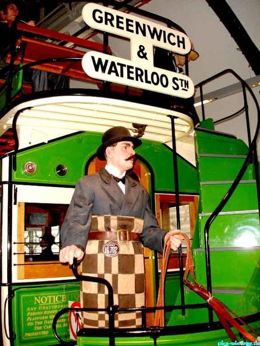 Aufnahme aus dem Londoner Verkehrsmuseum