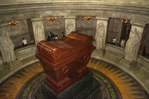 Hier fand der große Heerführer Napoleon Bonaparte seine letzte Ruhestätte
