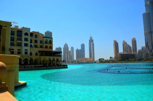 Nachmittags am Dubai Lake