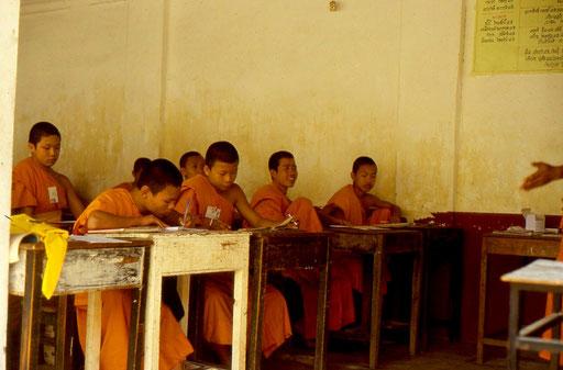 Eine Klosterschule - in Thailand nichts Ungewöhnliches