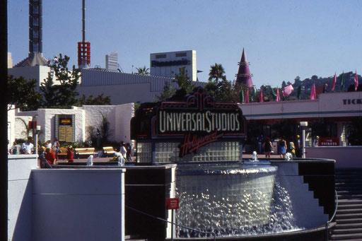 Eingang zu den Universal Studios