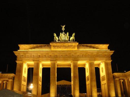 DAS Wahrzeichen von Berlin - das Brandenburger Tor