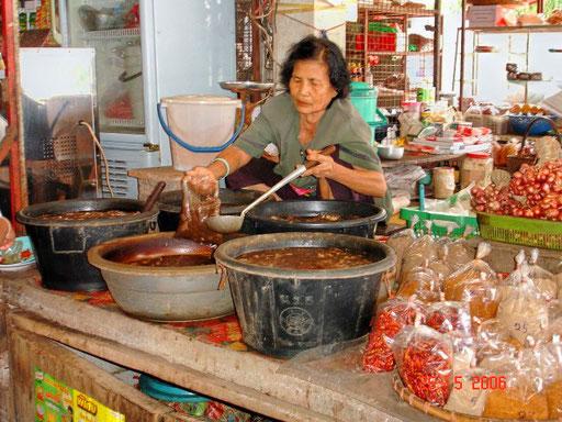 Marktfrau im Isaan