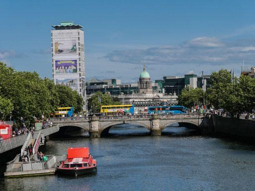 Die Liffey - Dublins Wasserader