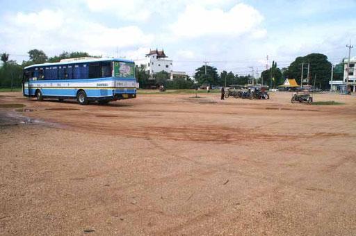 Buspark- und wendeplatz im Nordosten