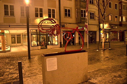 Winter am Marktplatz