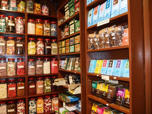 Sweets wohin das Auge reicht - die Iren mögen es gerne süß