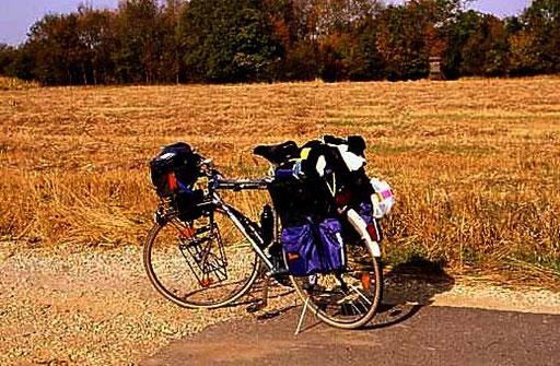 Das waren noch Fahrradrahmen - mein altes Koga Myiata Reiserad -