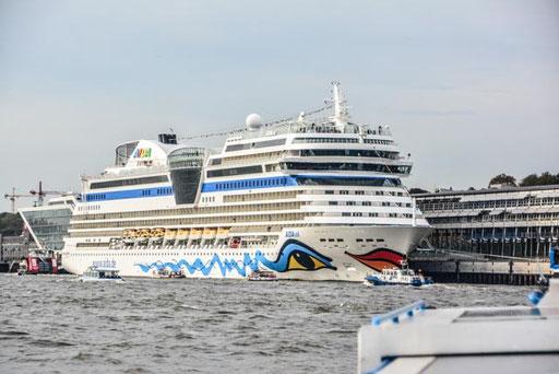 Aida Sol am Cruiser Terminal