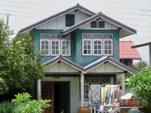 Typischer Baustil im Isaan