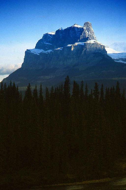 Abend in den Rocky Mountains (Kanada)