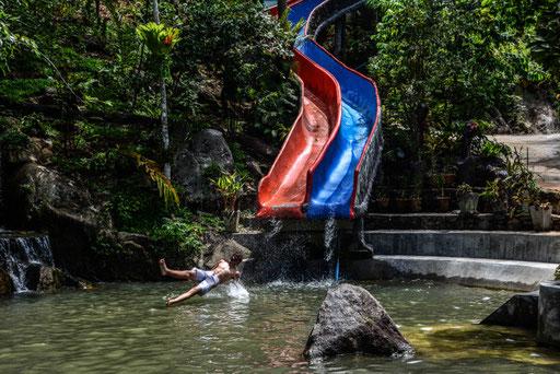 Wasserpark im Hinterland von Koh Samui