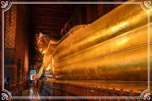 Liegender Buddha im Wat Pho (Bangkok)