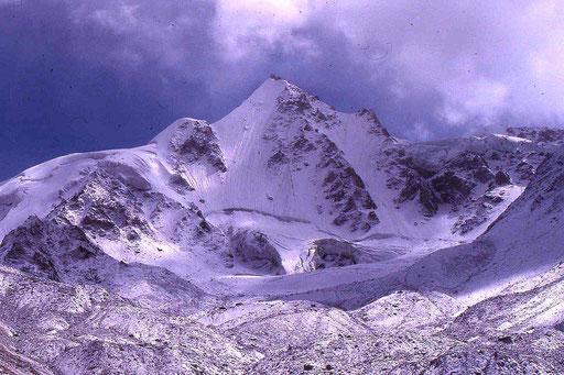 """Am Rupal-Peak, dem höchsten von uns """"erwanderten"""" Punkt in ca. 4.500 Meter Höhe"""