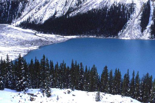 Bergsee in Kanada (British Columbia)