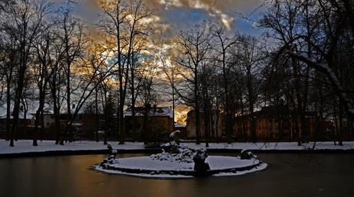 Fotos Daniel Schlenk: Hofgarten Winter 2015