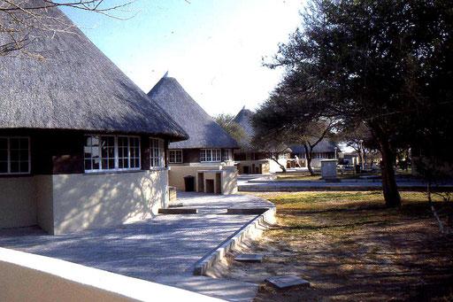 Eine Lodge im Nationalpark - einfach aber zweckmäßig