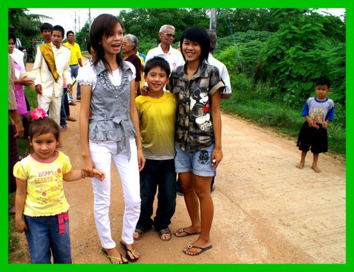 Wie gesagt unterscheiden sich thailändische Teenager nicht von europäischen, modisch schon gar nicht