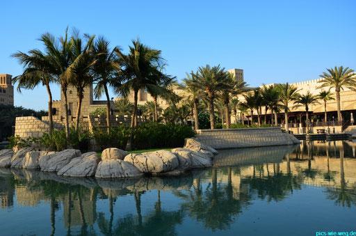 Im Souk Madinat - unweit des Hotel Al Arab