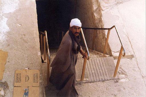 Eingang zum Grab des Tut-Ench-Amun