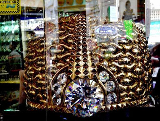 Lt. Guinness-Buch der größte Goldring der Welt