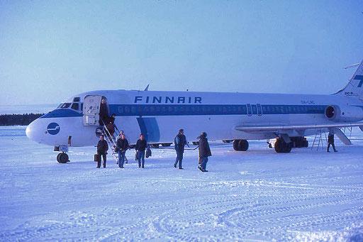 Flugplatz in Rovaniemi