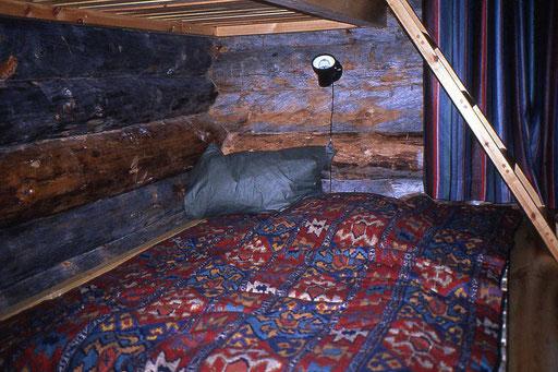Unser Nachtlager - nach einem anstrengenden Tag auf der Loipe schläfst du wie Gott in Finnland