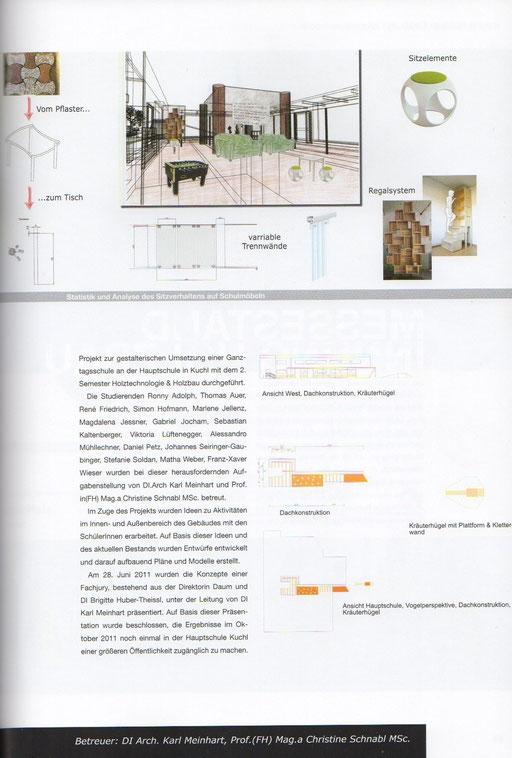 Werkschau 2010/2011, Studiengang Holztechnologie & Holzbau, Fachhochschule Salzburg