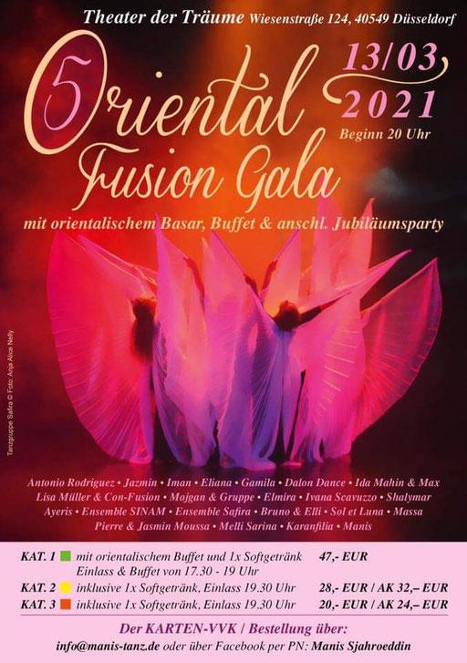 Oriental Fusion Gala 2021