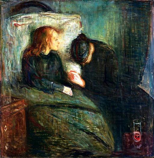 Das kranke Kind, Edvard Munch 1885