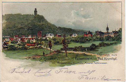 Falkenstein, Postkarte undatiert