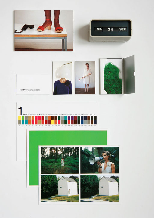 art direction,graphic design,aude buttazzoni,indress,wies schulte, stationery, catalogue,catalog,photographs