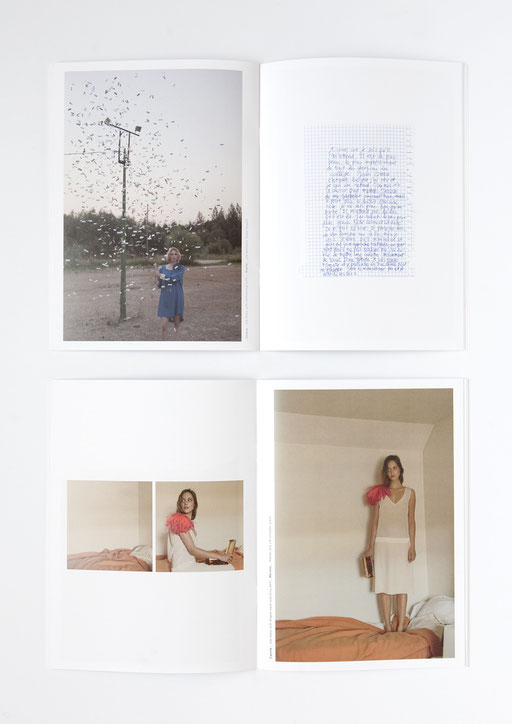 Art Direction, Aude Buttazzoni, Indress, wies schulte, catalog, catalogue, look book, photographs, frederic guelaff, spring, summer, printemps, été, 2014, collection
