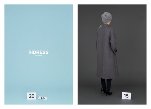 Art Direction, Aude Buttazzoni, Indress, wies schulte, catalog, catalogue, look book, photographs, charlotte Hess, autumn, winter, 2014, 2015, collection