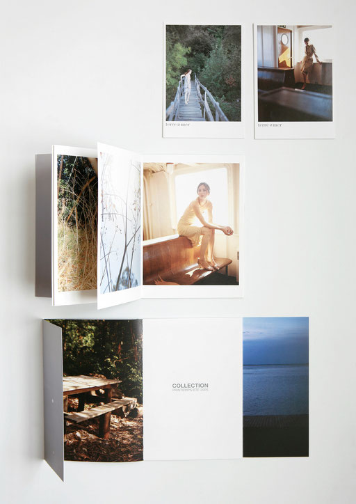 art direction, graphic design, aude buttazzoni, terre & mer, catalog