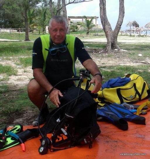 varadiving instructor