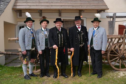 Gau-, Vereins- und Ehrenvorstände  2015