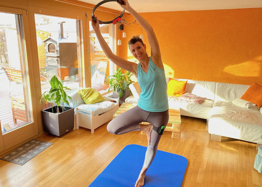 Mama macht Yoga
