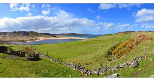 Das Loch Eriboll, Sutherland (Highlands), Schottland