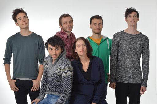 Jackson Carroll/Helge Freiberg/AleksandarFilic/Paul Calderone/ Bogdan Nicula/Yvonne Schweidtmann /Foto Rainer Kaltenbach