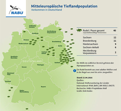 Wölfe In Brandenburg Karte.Aktuelle Karte Nabu Lag Wolf Bbs Webseite