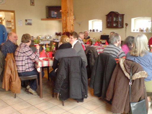 ... Alle haben das leckere Essen genossen!