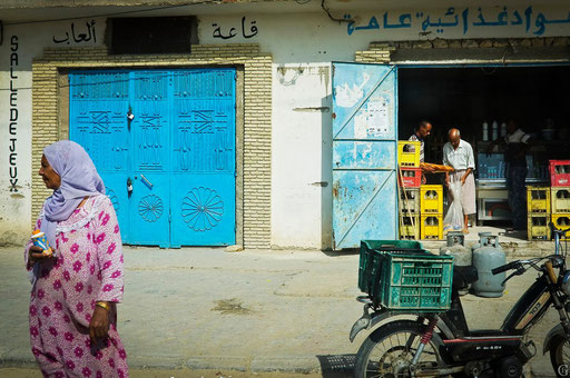 Tunisie,09 2011,épicerie à Tozeur