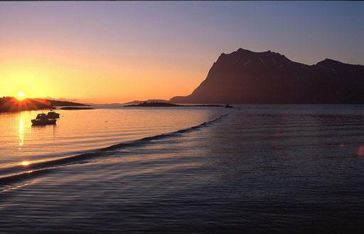 Norvège,08 1997,embarquement pour les îles Lofoten