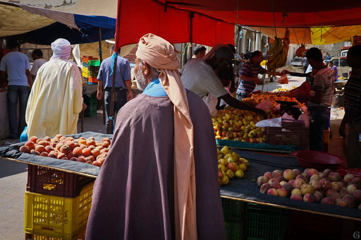 Tunisie,09 2011,marché de Douz